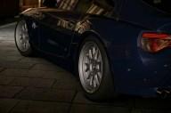 BMW Z4 Sitting on Deep Dish BBS Rims.