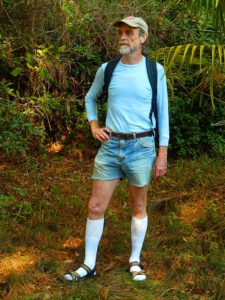 CC BY 3.0 File:Hiking in Knee Socks, Sandals, and Cut-offs.jpg Created: 18 December 2011