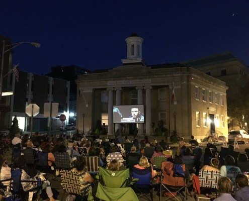 Generoso Pope Foundation Tuckahoe David Outdoor Movies