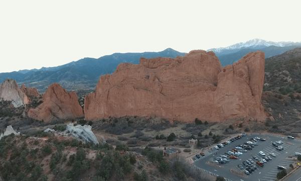 Garden of the Gods – Move Toward Huge Rock #1