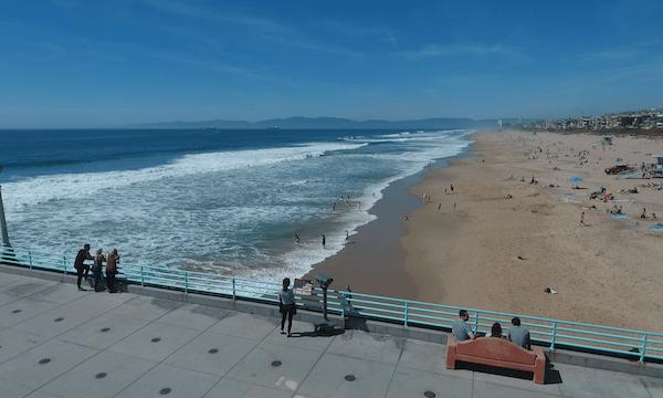 Manhattan Beach – Ascent Next to Pier