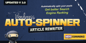 Auto Spinner Plugin v.3.7.6 Free Download