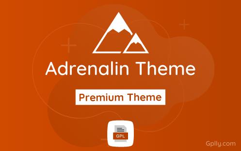 Adrenalin GPL Theme Download