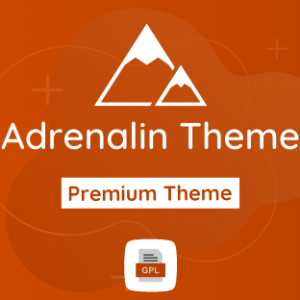Adrenalin GPL Theme Download