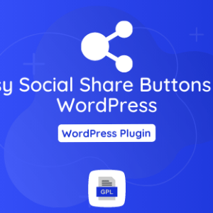 Easy Social Share Buttons for WordPress GPL Plugin Download