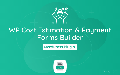 WP Cost Estimation & Payment Forms Builder GPL Plugin Download
