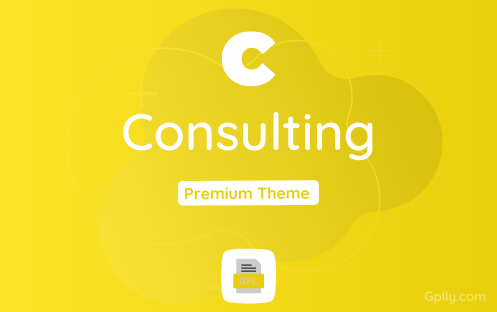 Consulting GPL Theme Download