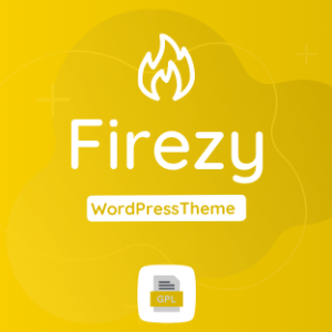 Firezy GPL Theme Download