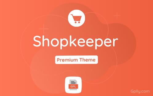 Shopkeeper GPL Theme Download
