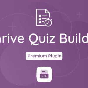 Thrive Quiz Builder GPL Plugin Download