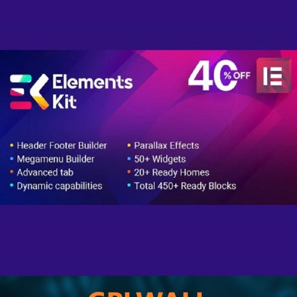 Elements Kit – All In One Addons for Elementor Page Builder 2.0.5