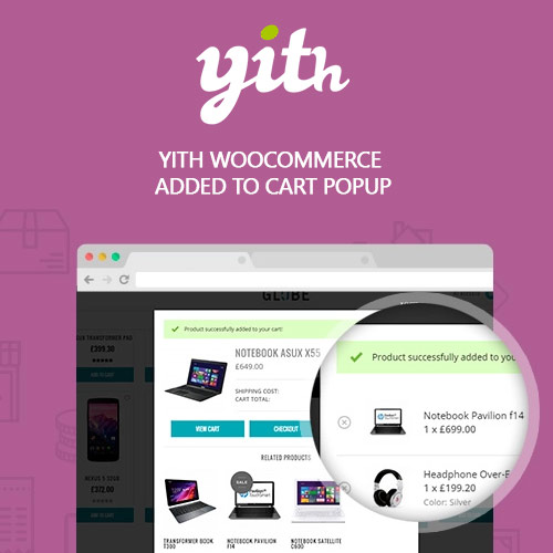 YITH WooCommerce Added to Cart Popup Premium 1.6.3
