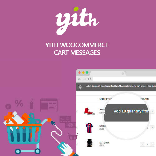 YITH WooCommerce Cart Messages Premium 1.7.1