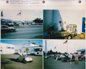 July 14, 1991: Car Show; Barden McKain Ford, Wexford PA