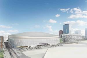 L'Arena 92, par Christian de Portzamparc