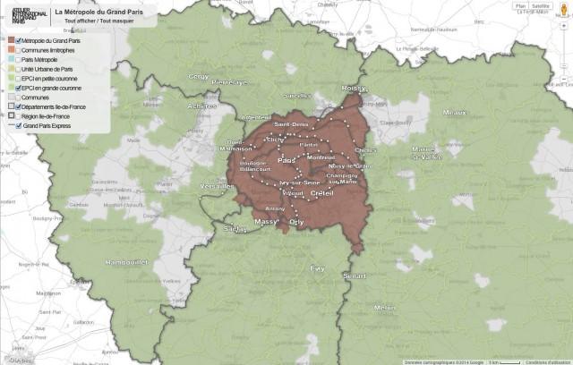 carte interactive AIGP