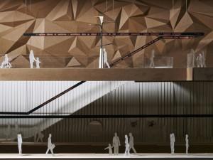 La gare sensuelle, maquette - Crédit Hugo Deniau