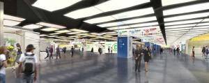 Projet de réaménagement de la salle d'échanges Châtelet-Les Halles