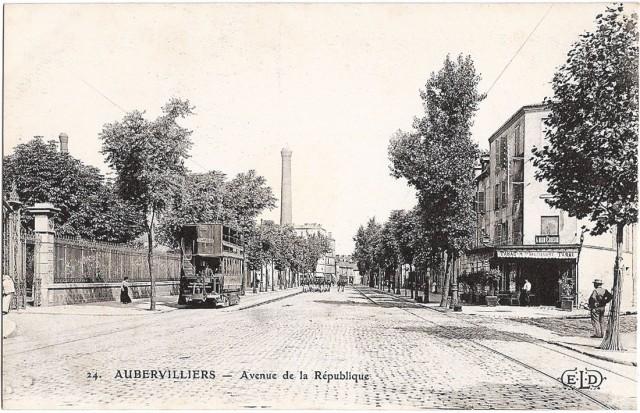 Tramway avenue de la République