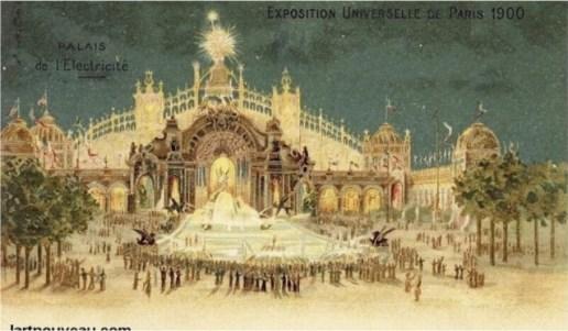 Palais de l'électricité 1900