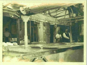 Intérieur de la blanchisserie Vincent