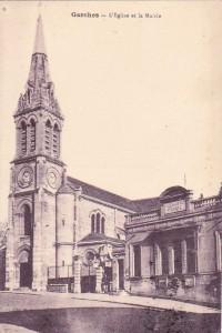 Eglise au début du XXème siècle