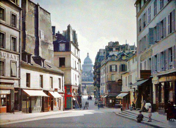 Rue du Haut Pavé le 30 août 1928