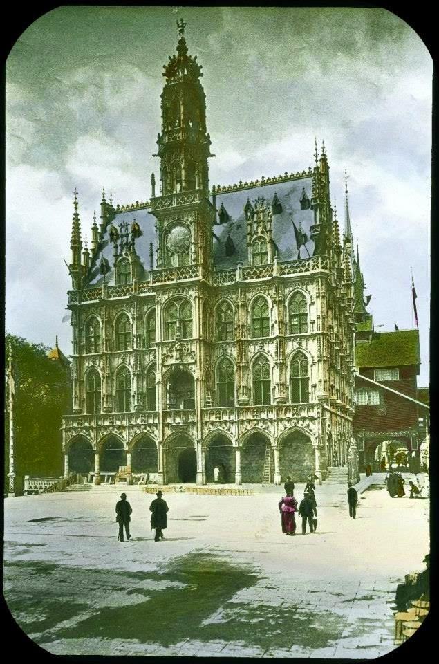 Pavillon de la Belgique à l'exposition universelle de 1900