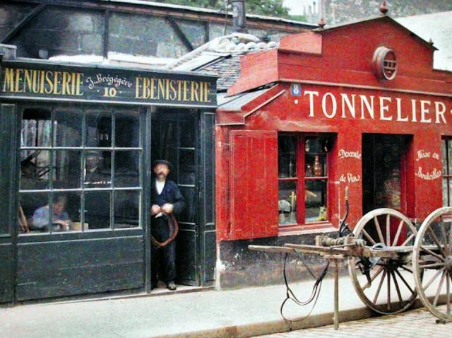 8 et 10, Rue du Montparnasse le  22 Juillet 1914 – photo Stéphane Passet