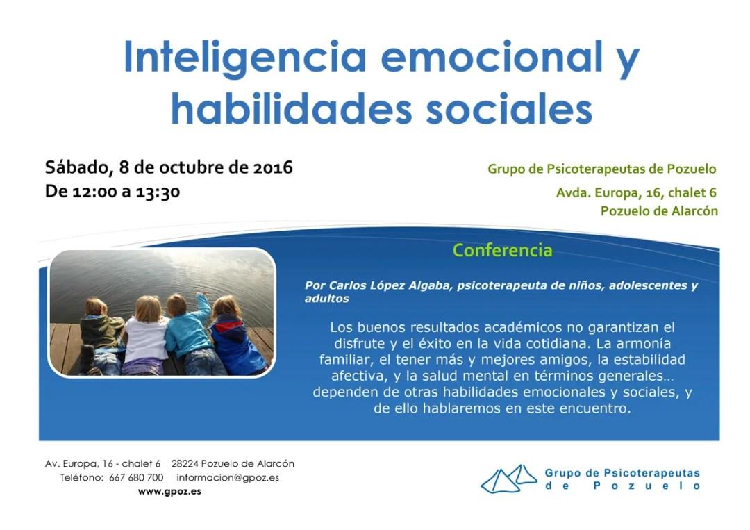 GPOZ - Inteligencia emocional y habilidades sociales