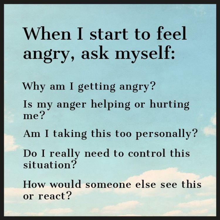 questions to ask when you feel angery.