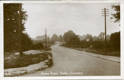 Binley Road (as lane)