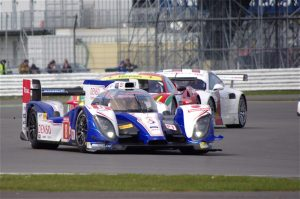 Buemi on his way to a podium in the opening round of his first full WEC season at Silverstone.