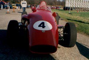 Geki's former Stanguellini Formula Junior car.