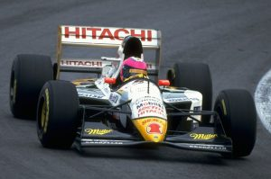 Retained by Lotus for 1994, Lamy races the 107C at Interlagos. (Pascal Rondeau)