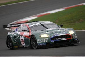 Lamy raced Larbre's Aston Martin DBR9 in 2006. (ACO/DPPI)