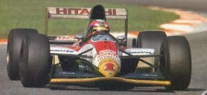 Lamy in his first appearance for Lotus at Monza, 1993.