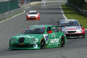 Lamy in the German V8Star series, racing the Zakspeed-run Jaguar.