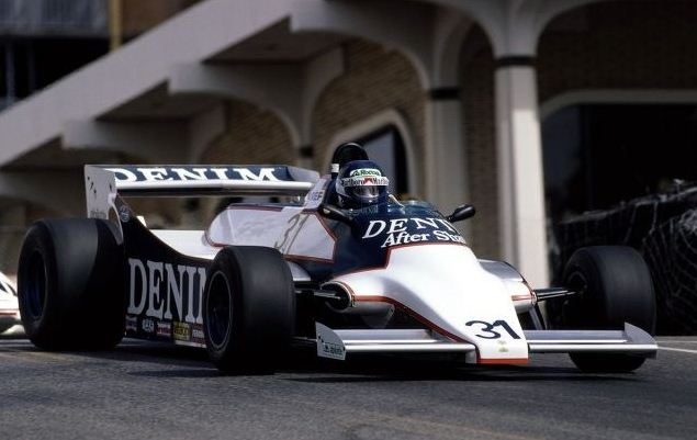 Miguel's first Grand Prix weekend at Long Beach ended with a DNQ, the first of three.