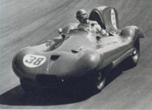 The B-Type was a rare example of a closed-wheel F1 car.