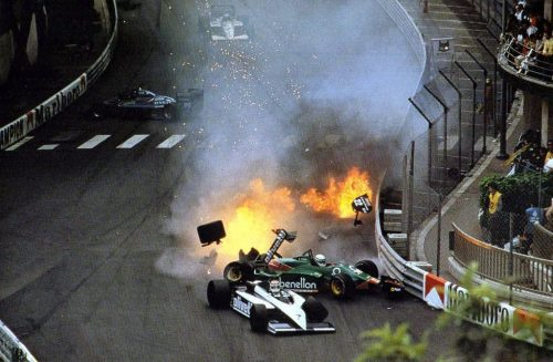 That won't buff out easily, Monaco 1985.
