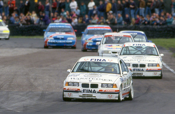 Smokin' Jo rather, ahem, smoked the field in 1993. (Photo: BTCC.net)