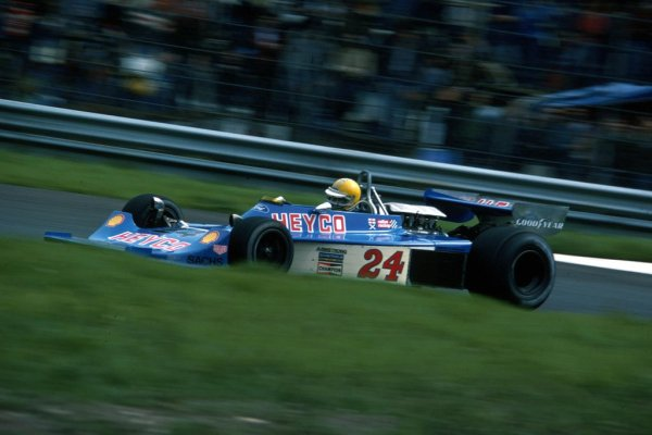 Harald in one of his more solid drives during the 1976 Italian Grand Prix