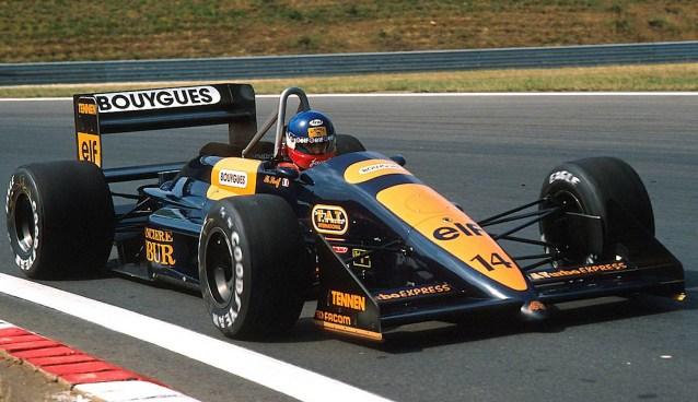 Philippe Streiff, AGS JH23, Hungaroring 1988