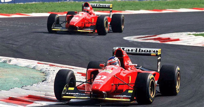 The Prancing Horse was in the thick of it in 1994. 26 years later, you could argue nothing's changed!