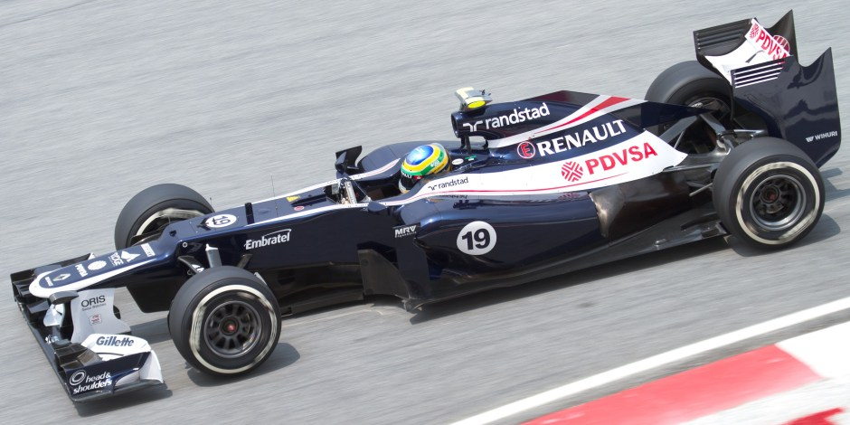 Was the Williams FW34 potential wasted by its drivers? Photography: Wikipedia Commons