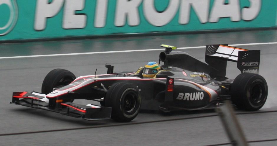 Bruno Senna, Malaysia 2010