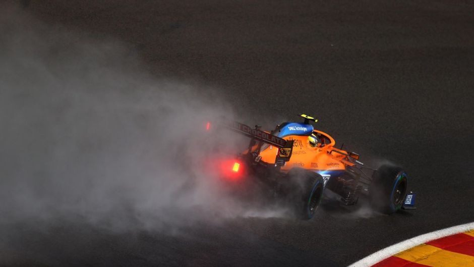 Is it time for F1 to rethink its wet weather procedures? Photo: Getty Images