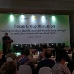 Menteri PPN/Kepala Bappenas Bambang P.S.Brodjonegoro:GCV Untuk Membantu Pengurangan Emisi