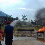 TK/Paud Hidayatullah Kutim Kunjungi Mako Damkar